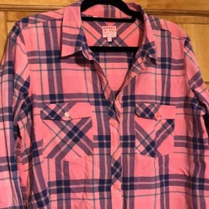 Guess button down shirt, size Large